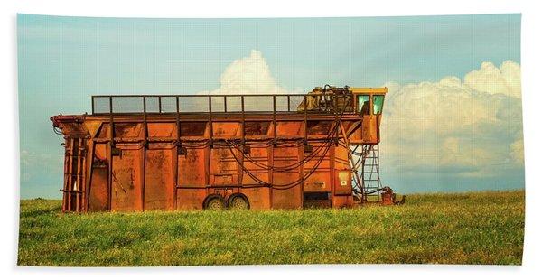 Rusty Cotton Baler  Beach Sheet