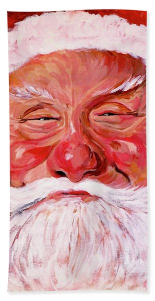 Santa Beach Towel