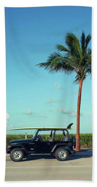 Saturday Surfer Beach Towel