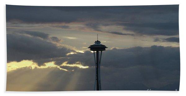 Seattle Light Beach Towel