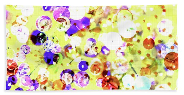 Sequins And Pins 2 Beach Towel