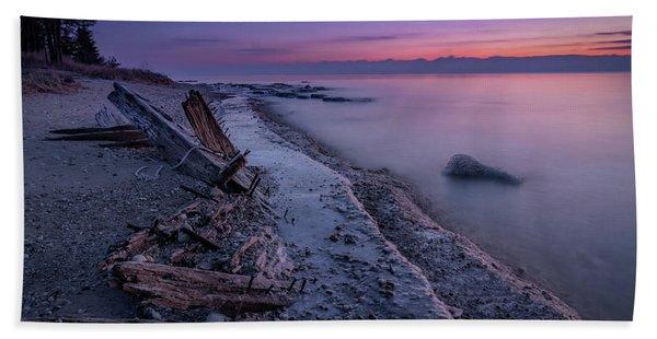 Shipwrecked Beach Towel