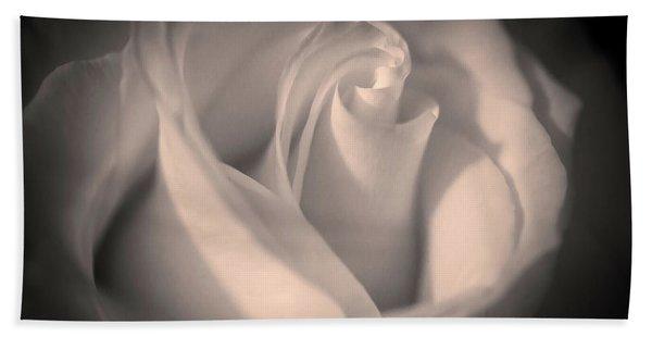 Silky Pastel Rose Beach Towel