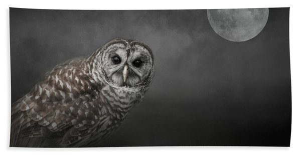 Soul Of The Moon Beach Towel