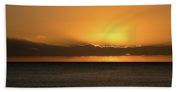 Southern Sunrise Beach Towel
