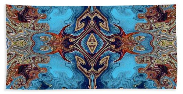 Beach Towel featuring the digital art Soy Un Moresco  by A zakaria Mami