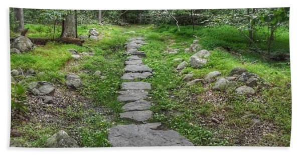 Stepping Stone Path - Kinnelon Beach Sheet