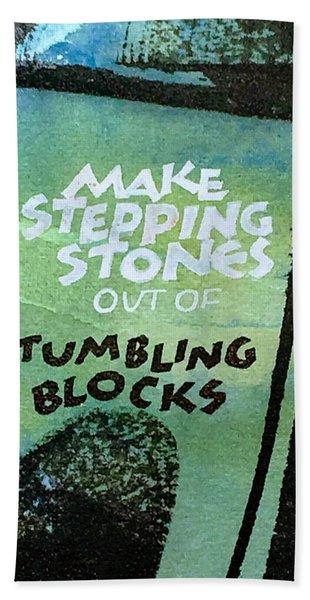 Stepping Stones Beach Sheet