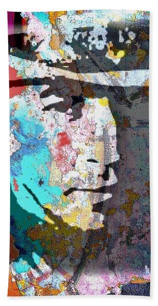 Stevie Ray Vaughan Beach Towel
