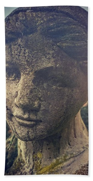 Stone Lady Beach Towel