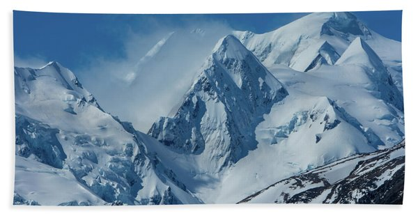 Summer Winds In Mount Cook National Park Beach Towel