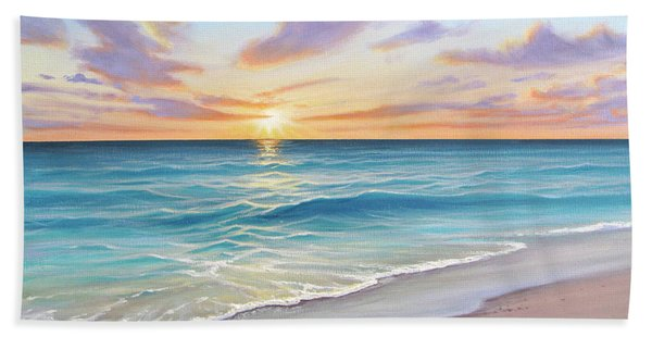 Sunrise Splendor Beach Sheet