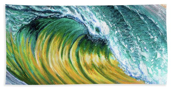 Surf Into The Sunset Beach Towel