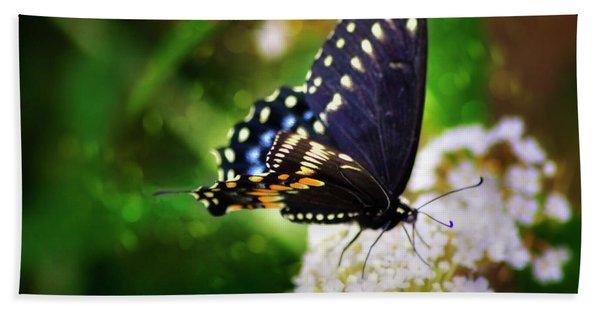 Swallowtail Butterfly Beach Towel