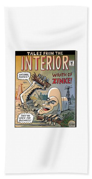 Tales From The Interior Beach Towel