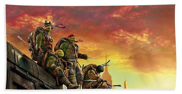 Teenage Mutant Ninja Turtles Beach Towel