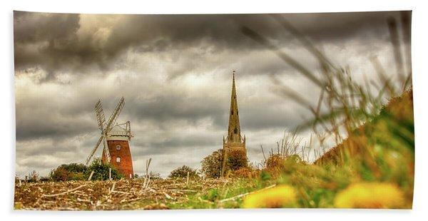 Thaxted Windmill And Church Beach Sheet