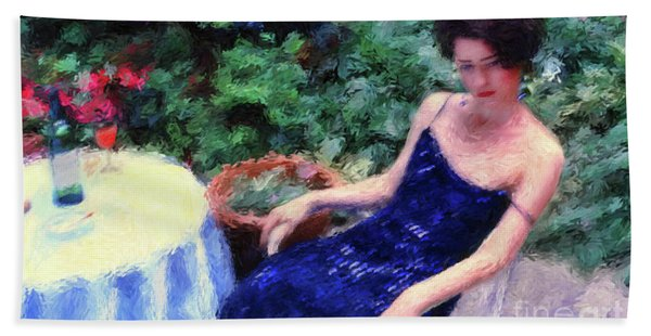 The Blue Dress Beach Towel
