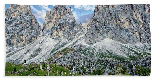 The Dolomites Beach Towel