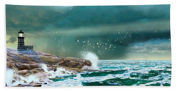 The Eye Of Neptune Beach Towel