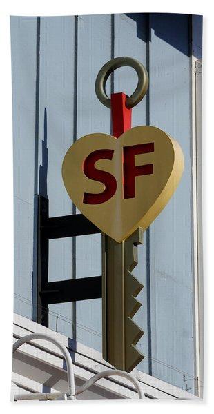 The Key To San Francisco Beach Towel