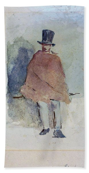 The Man In The Tall Hat - Digital Remastered Edition Beach Towel