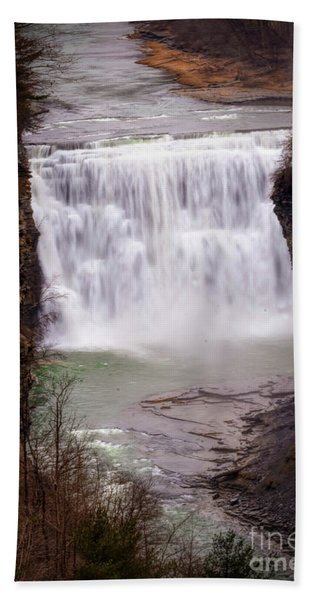 The Middle Falls Beach Towel