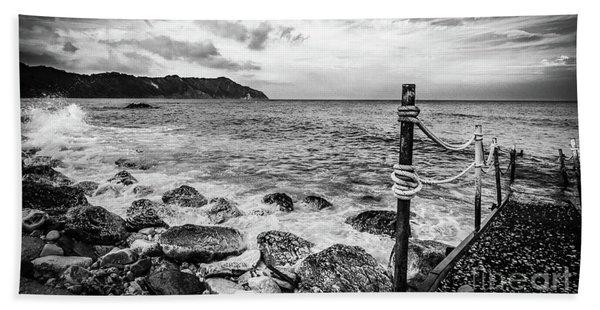 The Winter Sea #4 Beach Towel