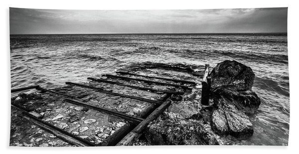 The Winter Sea #6 Beach Towel