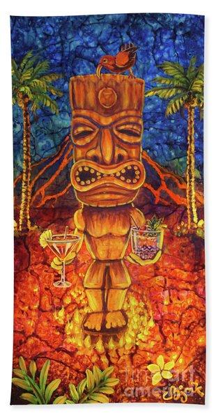 Tiki Cocktail Hour Beach Sheet