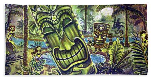 Tiki Genie's Sacred Pools Beach Sheet