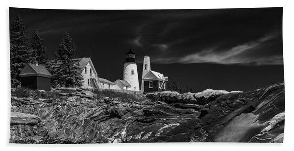 Timeless Maine Beach Towel