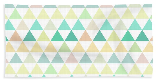 Triangle Abstract Background- Efg204 Beach Sheet