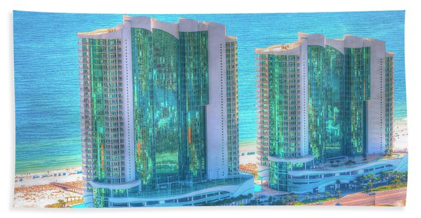 Turquoise Place Beach Towel