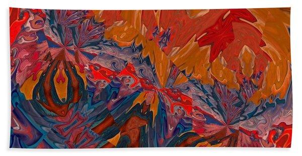 Beach Towel featuring the digital art Van Mam by A zakaria Mami