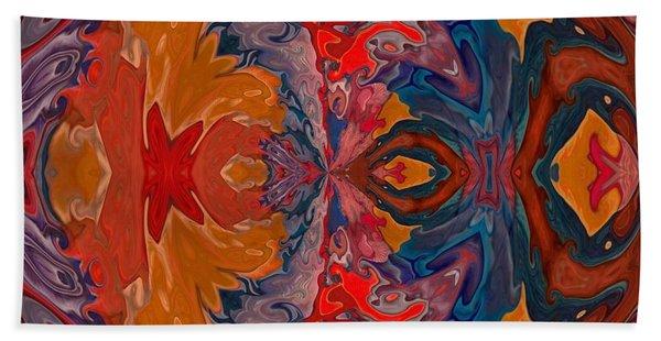 Beach Towel featuring the digital art Vanlove by A zakaria Mami