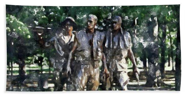 Vietnam Veteran Memorial Beach Towel