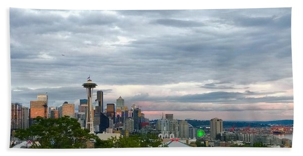 View From Queen Anne, Beach Towel