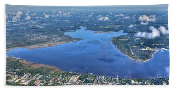 Wolf Bay Alabama Beach Towel