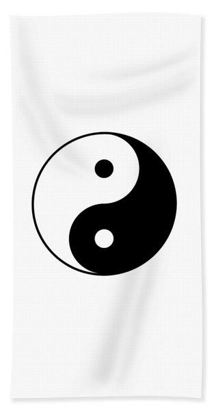 Yin And Yang Beach Sheet