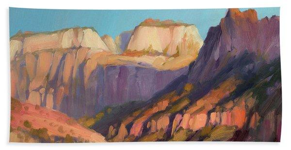 Zion's West Canyon Beach Towel