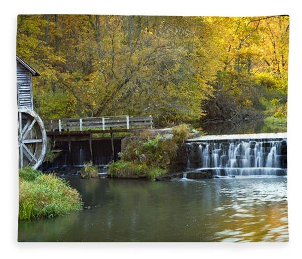 0291 Hyde's Mill Wisconsin Fleece Blanket