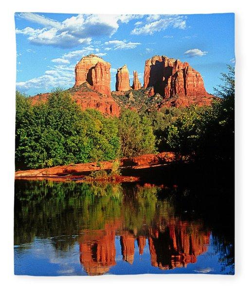 0464 Sedona Arizona Fleece Blanket