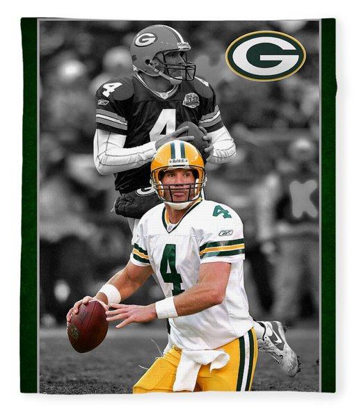 Brett Favre Packers Fleece Blanket