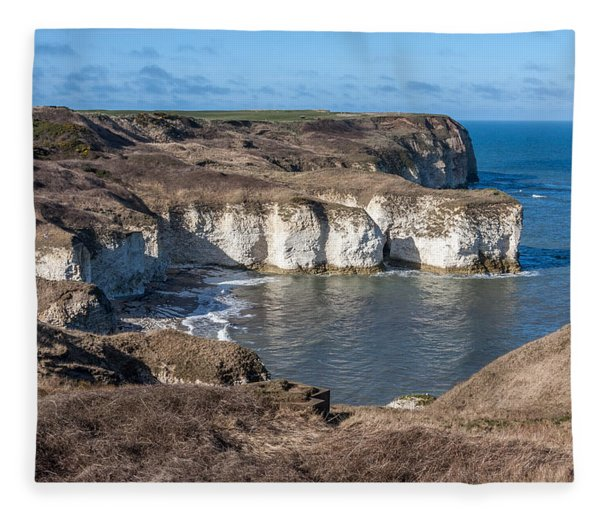 Flamborough Head Fleece Blanket