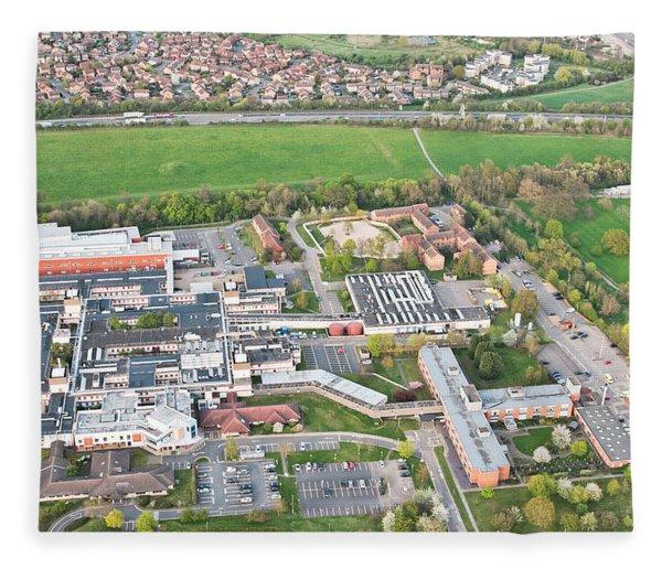 Hinchingbrooke Hospital Fleece Blanket
