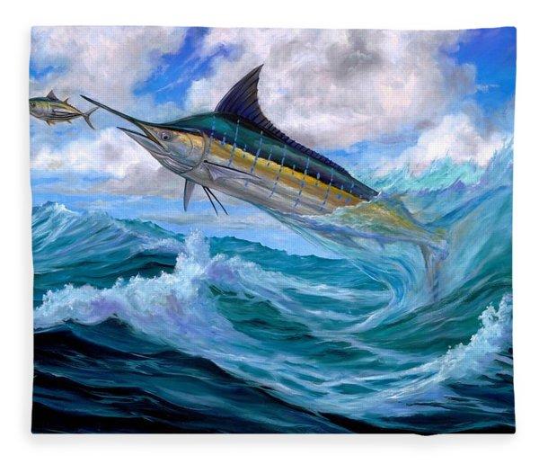Marlin Low-flying Fleece Blanket