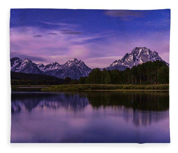 Moonlight Bend Fleece Blanket