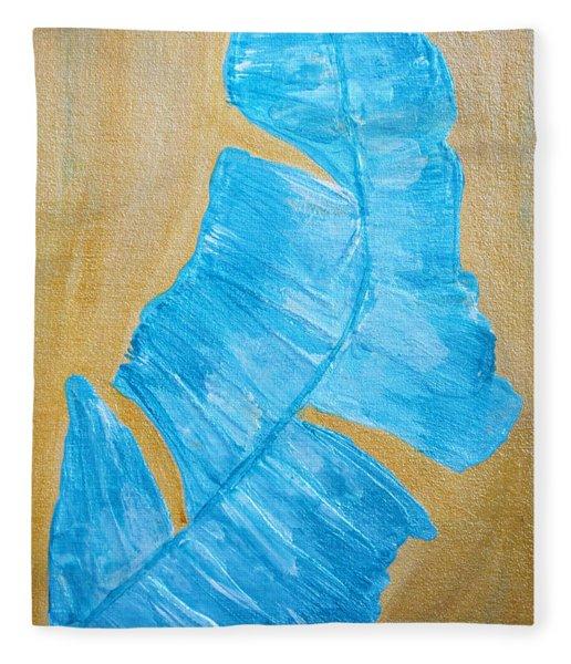 Splash 2  Fleece Blanket