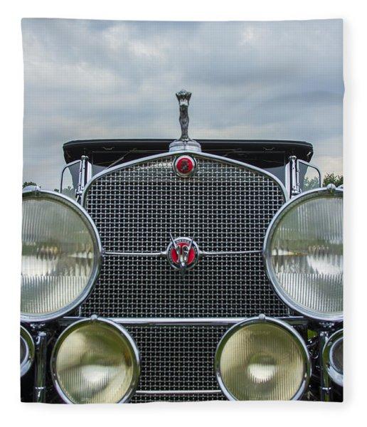 1930 Cadillac V-16 Fleece Blanket
